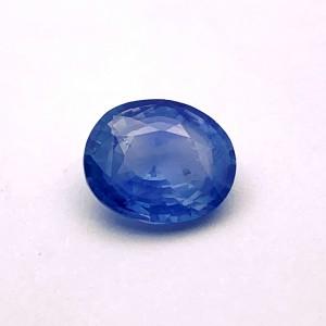 8.47 Carat/ 9.40 Ratti Natural Ceylon Blue Sapphire (Neelam) Gemstone