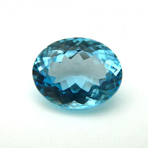 8.55 Carat/ 9.50 Ratti Natural Blue Topaz Gemstone