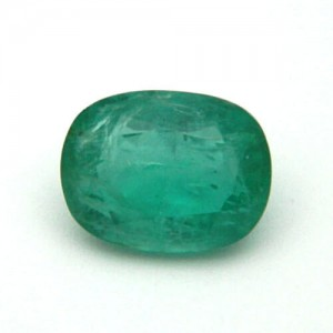 9.12 Carat/ 10.12 Ratti Natural Columbian Emerald (Panna) Gemstone