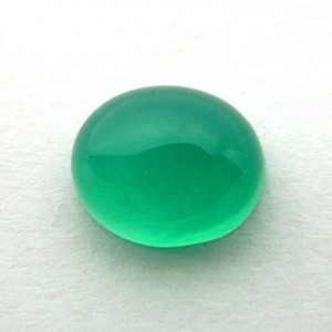 6.32 Carat  Natural Green Onyx Gemstone