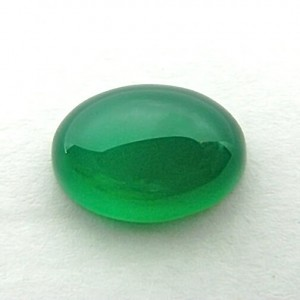 6.59 Carat  Natural Green Onyx Gemstone