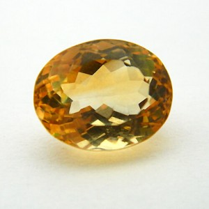 5.84 Carat  Natural Citrine (Sunela)  Gemstone