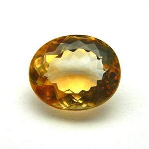 6.43 Carat Natural Citrine (Sunela) Gemstone