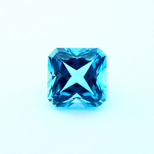 4.29 Carat Natural Blue Topaz Gemstone
