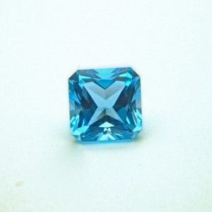 3.77 Carat Natural Blue Topaz Gemstone