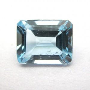 2.72 Carat Natural Blue Topaz Gemstone