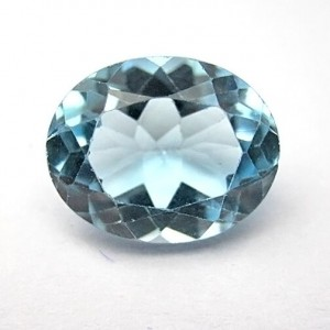 3.12 Carat Natural Blue Topaz Gemstone