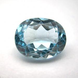 3.24 Carat Natural Blue Topaz Gemstone