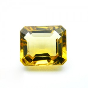 4.47 Carat/ 4.96 Ratti Natural Citrine (Sunela)  Gemstone
