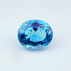 6.29 Carat Natural Blue Topaz Gemstone