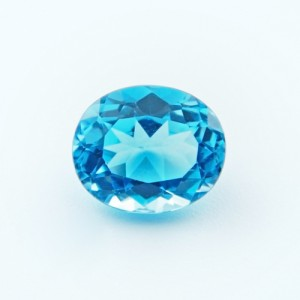 6.46 Carat Natural Blue Topaz Gemstone