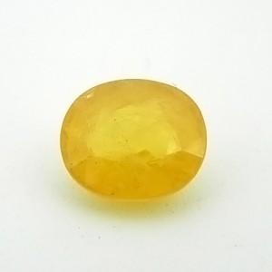 4.74 Carat Natural Yellow Sapphire (Pukhraj) Gemstone