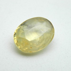 4.63 Carat Natural Yellow Sapphire (Pukhraj) Gemstone
