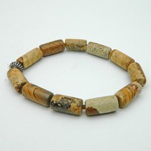 Petrified Wood Gemstone Bracelet