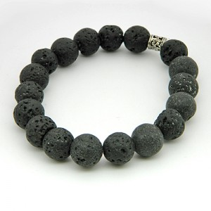 Lava Stone Gemstone Bracelet