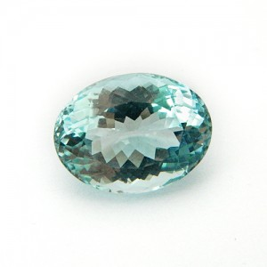 7.10 Carat Oval Mix Natural Aquamarine Gemstone