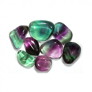 Natural Fluorite Tumbled Healing Crystals