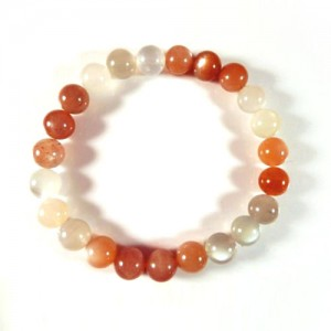 Natural Multicolor Moonstone Bracelet