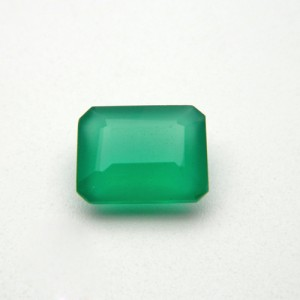6.30 Carat Natural Green Onyx Gemstone