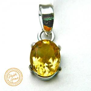 Citrine (Sunela)  Gemstone   Pendant