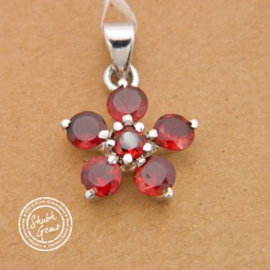 Hessonite Garnet (Gomed)   Gemstone   Pendant