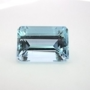 5.15 Carat  Octagon Step Natural Aquamarine Gemstone