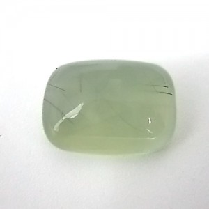 13.38 Carat Cushion Cabochon Natural Prehnite Gemstone
