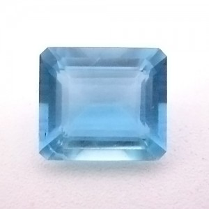 4.81 Carat Octagon Step Natural Aquamarine Gemstone
