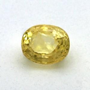 10.37 Carat Natural Yellow Sapphire (Pukhraj) Gemstone
