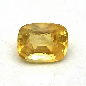 3.85 Carat Natural Yellow Sapphire (Pukhraj) Gemstone
