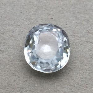 5.33 Carat Natural White Zircon Gemstone