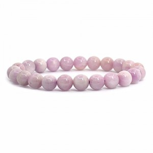 Natural Pink Kunzite Beads Bracelet