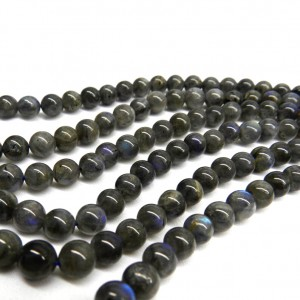 Natural Labradorite AAA Quality Gemstone Beads String