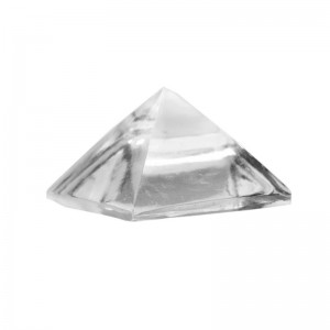 Natural Sphatik Crystal Quartz Pyramid