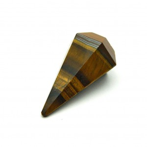 Natural Tiger Eye Pendulum Point