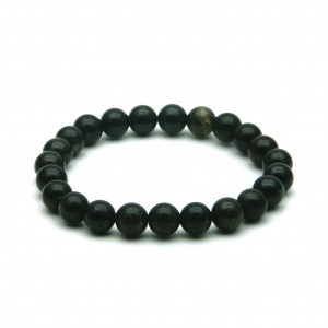 Natural Dark Green Tourmaline Beads Bracelet