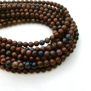 Natural Pietersite AAA Quality Gemstone Beads String