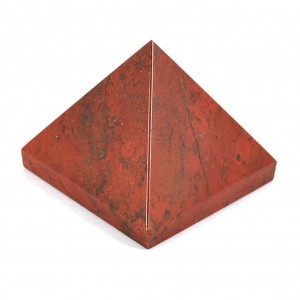 Natural Red Jasper Crystal Pyramid