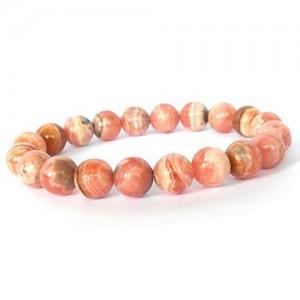 Natural Rhodochrosite Gemstone Bracelet