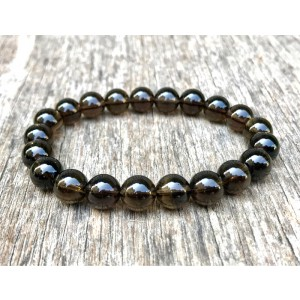 Smoky quartz Gemstone Bracelet