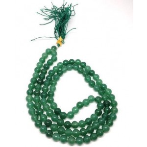 Best Quality Natural Green Aventurine Quartz Mala String (24 Inch)