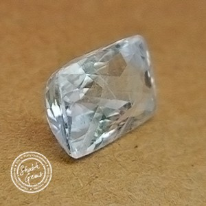 7.84 Carat  Natural White Sapphire Gemstone