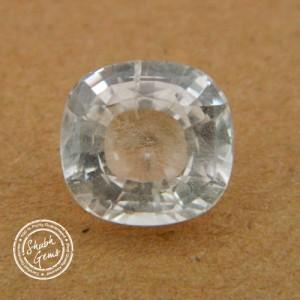 8.45 Carat  Natural White Sapphire Gemstone