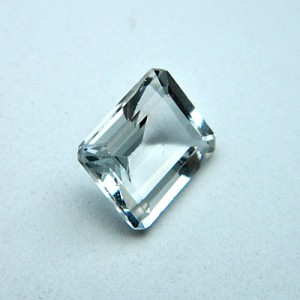 4.17 Carat  Natural White Topaz Gemstone