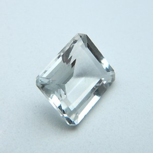 8.60 Carat/ 9.55 Ratti Natural White Topaz Gemstone