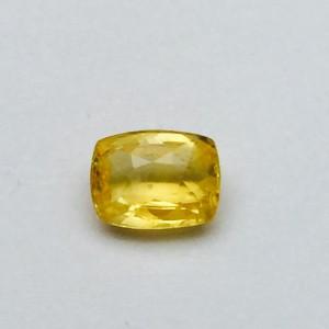 3.18 Carat Natural Ceylon Yellow Sapphire (Pukhraj) Gemstone