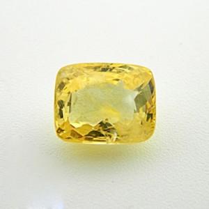 6.84 Carat Natural Yellow Sapphire Gemstone
