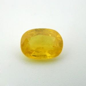 4.68 Carat Natural Yellow Sapphire Gemstone