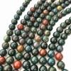 Natural Blood Stone 108 Beads Japa Mala Rosary