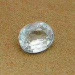 6.42 Carat Natural White Zircon Gemstone